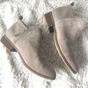 Toms Suede Boots Booties